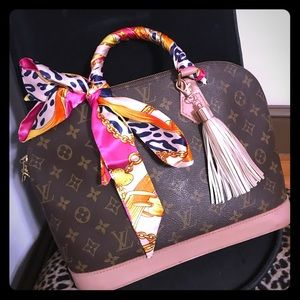Pink and gold leopard purse scarves Twillys